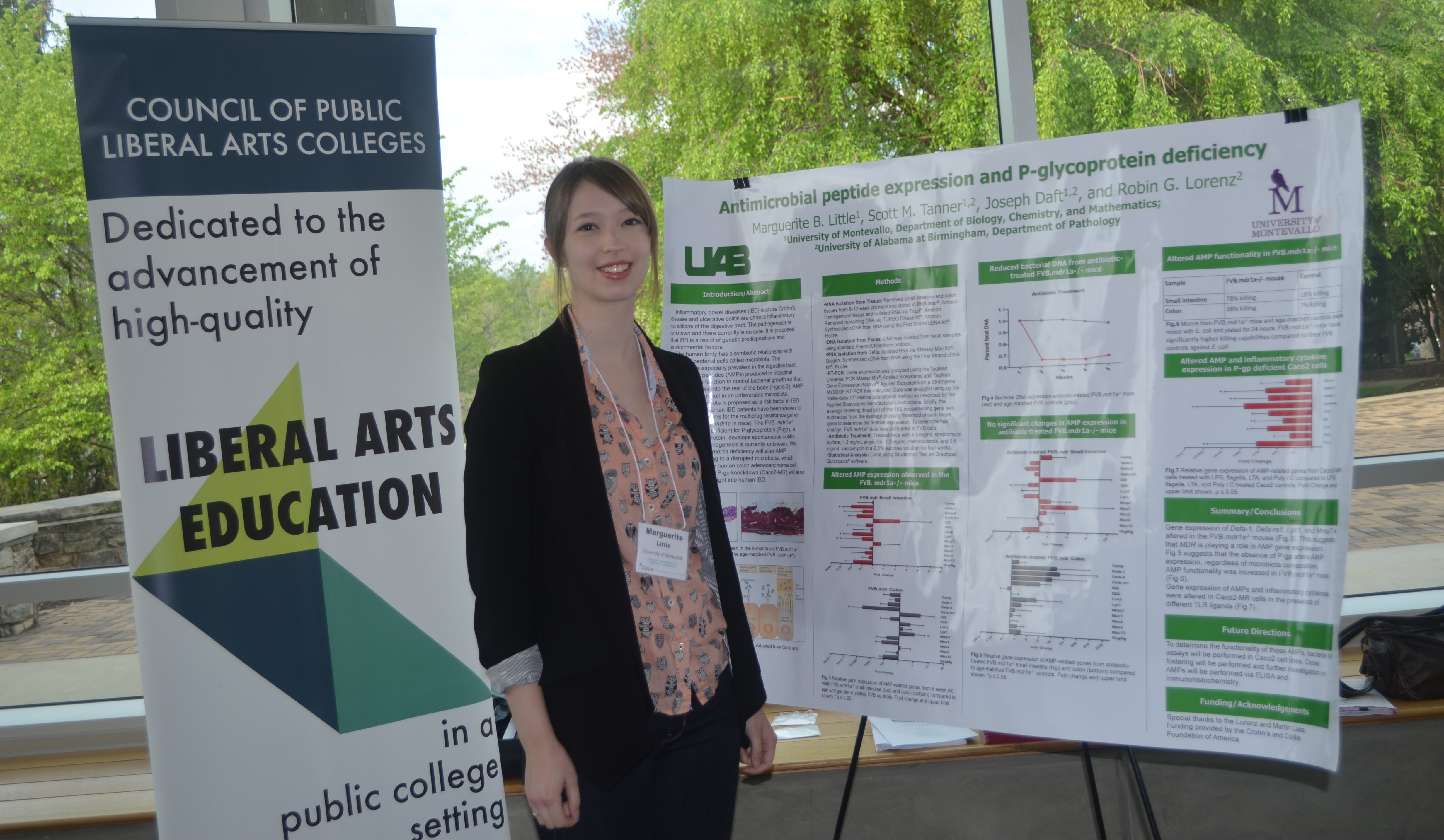 Student presents at COPLAC Undergraduate Research, Scholarly, and Creative Activity Conference