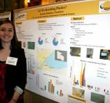 Figure 6. Kristen Johnson Presenting Work Completed Alongside Dr. Mendoza.