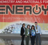 Figure 5. Dr. Rios And Chi-Yeon Evans, Sapanna P And Joe Ripley At The Acs Conference.